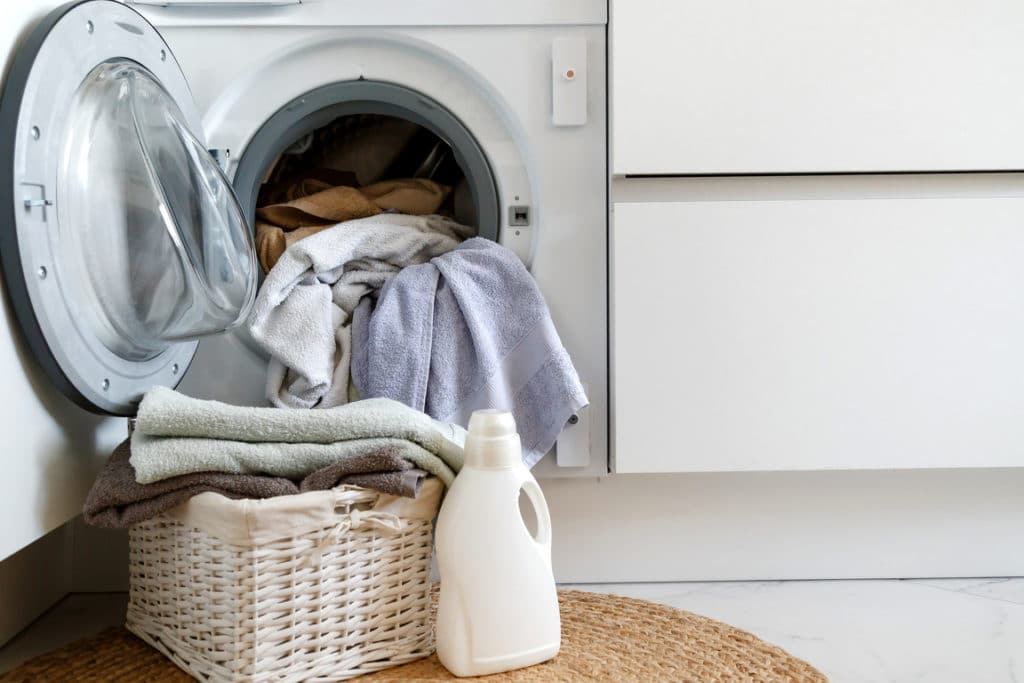 wash in cold water to lower your power bill