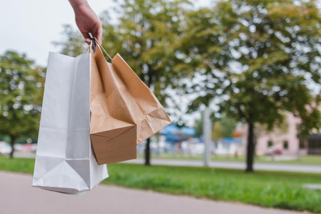 Deliver food as a side hustle